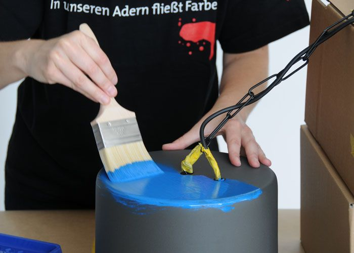 Lampe lackieren mit ADLER VariColor - Tipps & Tricks - Service & Ratgeber - ADLER