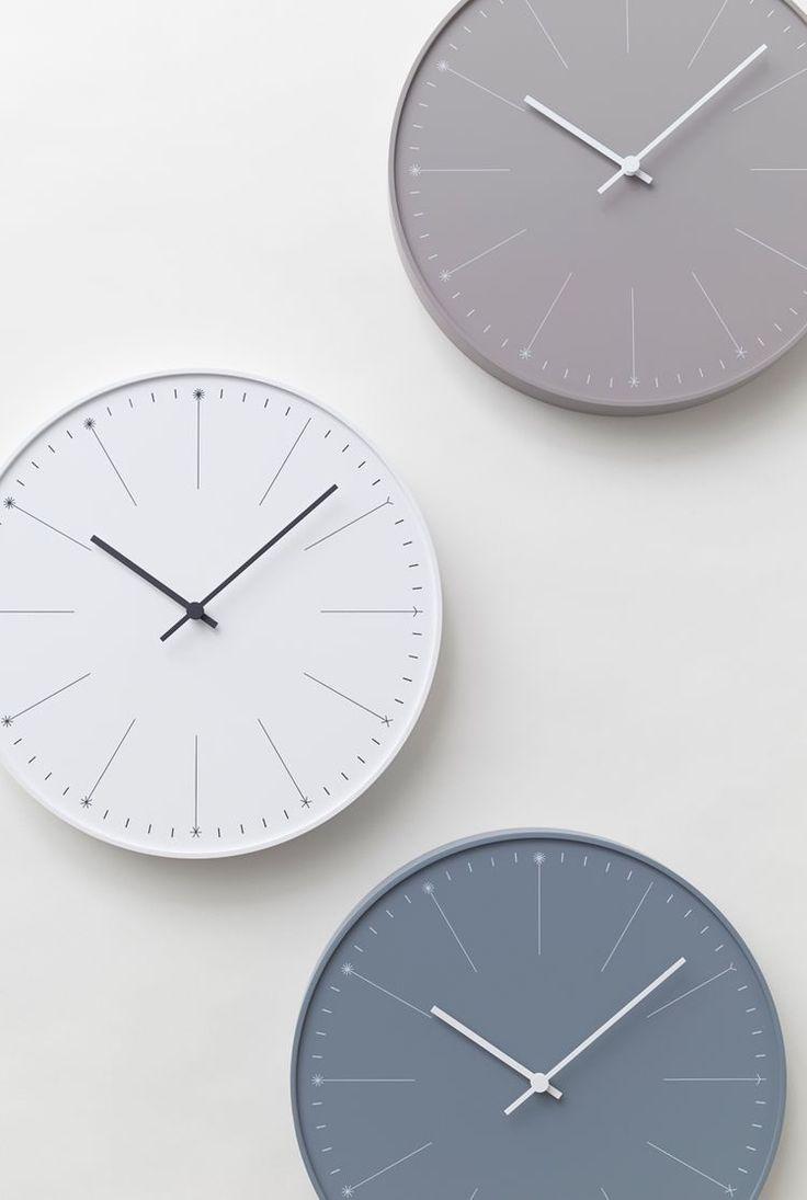 strakke klok Dandelion van Nendo / clock