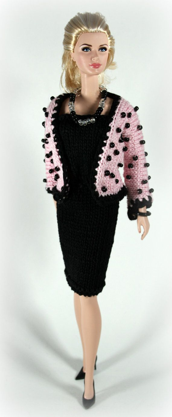 Barbie Dress and Beaded Jacket by ChicBarbieDesigns on Etsy, $24.99