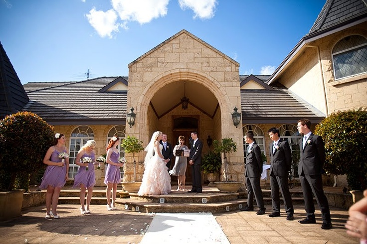 Wedding ceremony venue: Brookleigh estate, Swan Valley, Australia