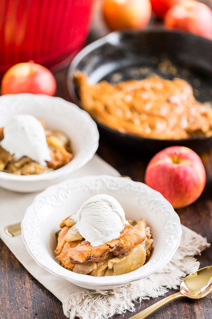 Apple Pie Skillet Cake | Get Inspired Everyday!