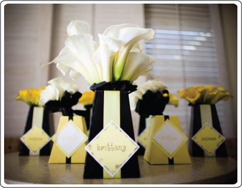 vases-cartons-jaune-deco