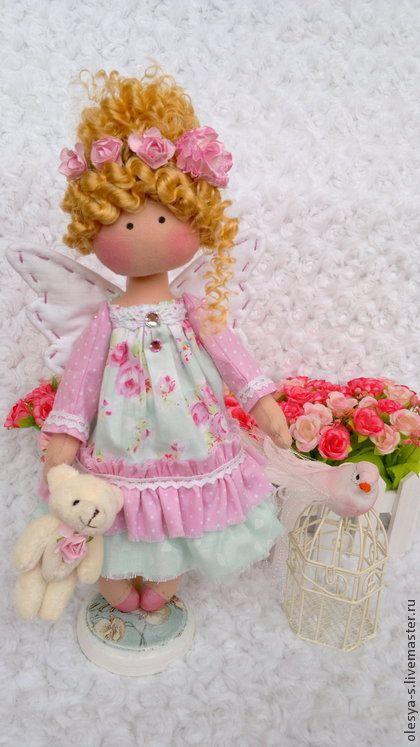 Коллекционные куклы ручной работы. Ярмарка Мастеров - ручная работа Spring fairy. Handmade.