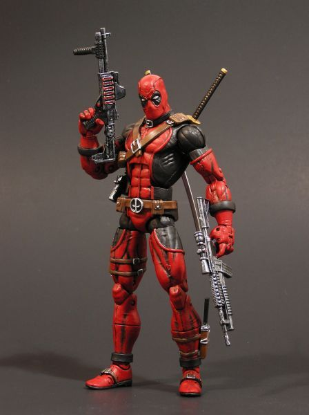 Deadpool Custom Action Figure