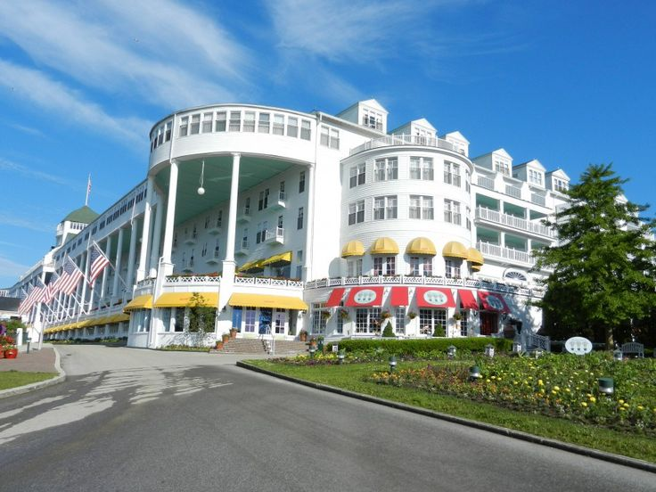 Mackinac Island - A wonderful old fashioned family vacation in the mid-West!  If you live in the mid-West, this might even be a drivable vacation!  Save on those plane fares.