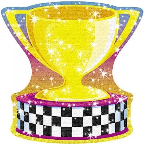 Gold Trophy Sparkle Accents