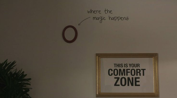 The magic happens outside your comfort zone. #GIRLS