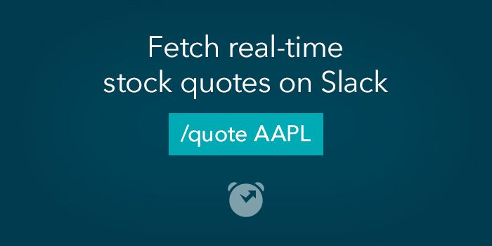 ClosingBell on Slack  Fetch stock market data from Slack with interactive messages
