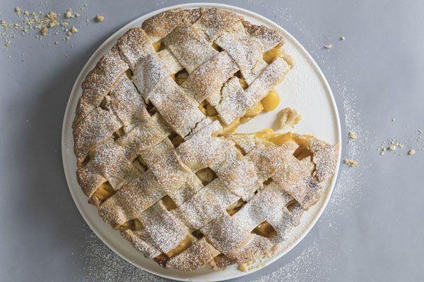 Peach pie – Recipes – Bite