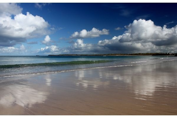 St Ives Bay taken from Carbis Bay  #Cornwall