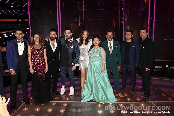 Sonakshi Sinha, Bharti Singh, Mohit Suri promote Nach Baliye 8 on the sets of Dil Hai Hindustani – view HQ pics! #FansnStars