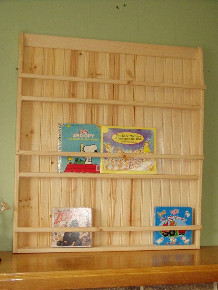 Unfinished Pine Primitive Plate Rack or Bookshelf Unit Display Rack by appletreewoodcrafts on Etsy https://www.etsy.com/listing/86462641/unfinished-pine-primitive-plate-rack-or