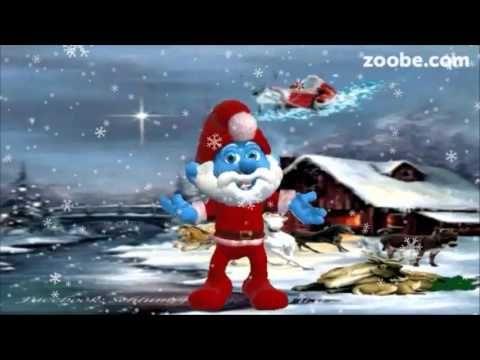 Weihnachten gl ck und gesundheit f r familie und freunde frohes fest schlumpf animation - Schlumpf weihnachten ...