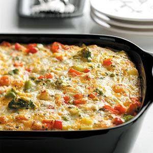 Delicious Potato Egg Bake Gluten Free | Recipes for Dinner #vegetarian