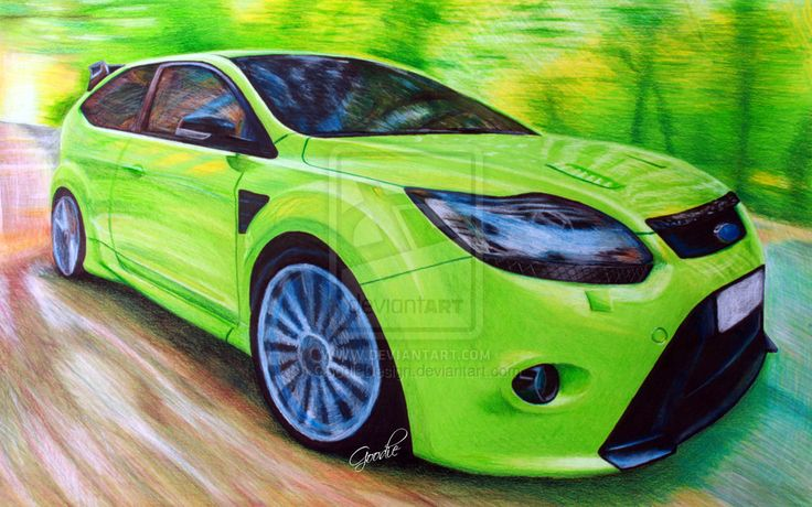 Ford Focus RS by GoodieDesign.deviantart.com on @deviantART