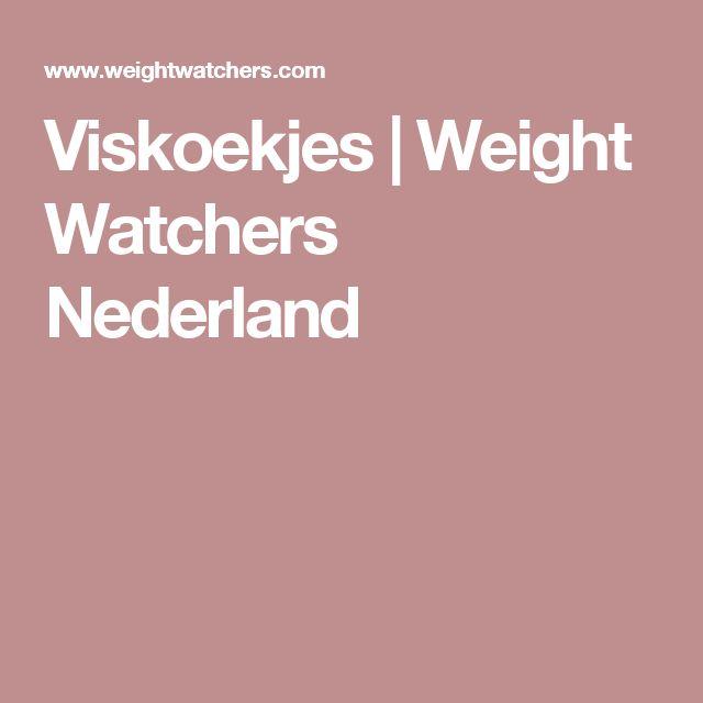 Viskoekjes | Weight Watchers Nederland