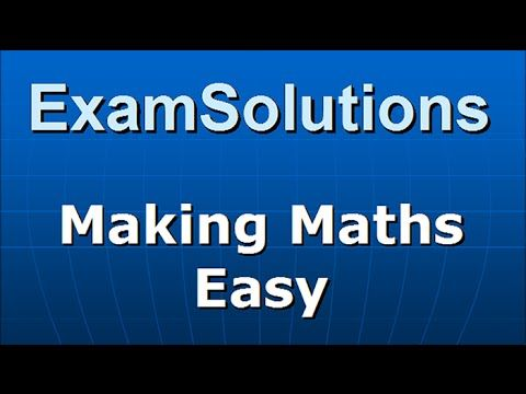 The Hyperbola - How to derive the Cartesian Equation, foci & directrices : ExamSolutions - YouTube