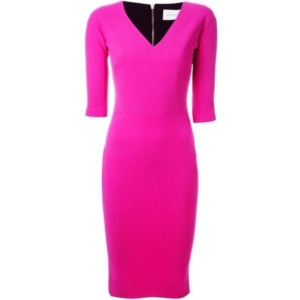 1000  ideas about Fuschia Pink Dress on Pinterest - Black pumps ...