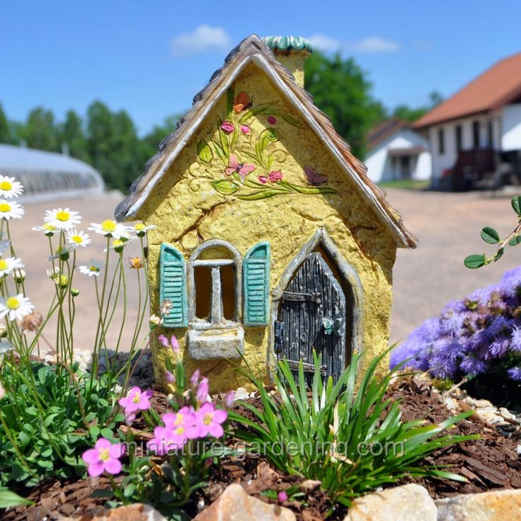 Brookside Cottage. Fairy Garden ...