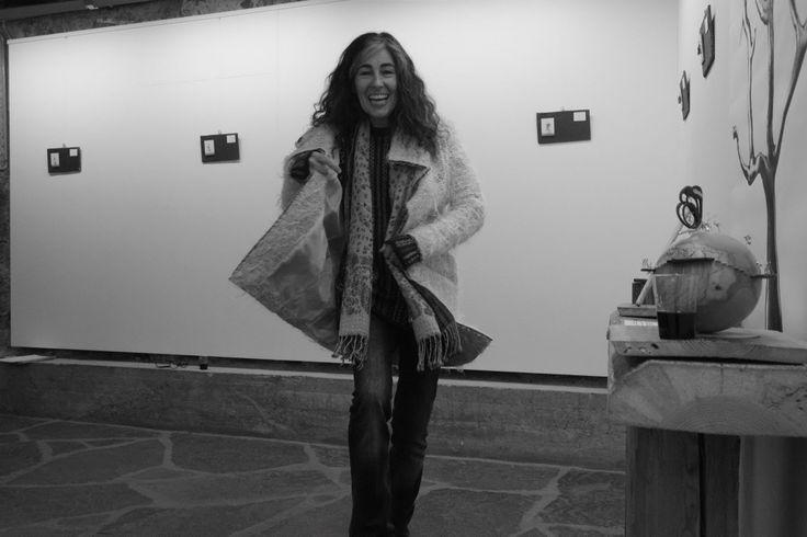 toute la joie de Mireille Membrez ,. Que de belles photos elle nous a présenté, et oh combien de rires nous avons fait , merci Mimi :)