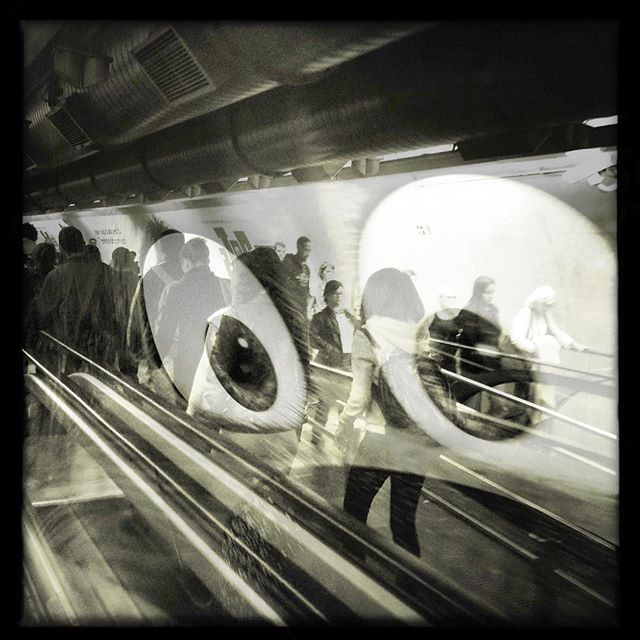 POWERED BY CHAOS #powered_by_chaos_serie #saopaulo #subway #hipstamatic #mobgraphia  #huxleywasright