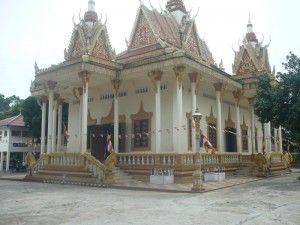 Outside Wat Krom, Khmer New Year 2012