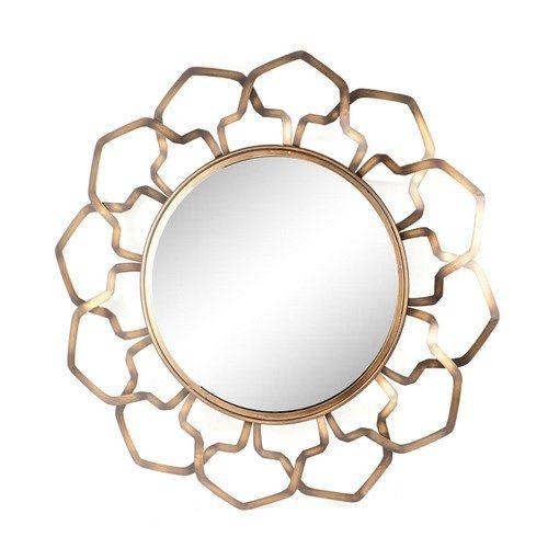 Bronze Lotus Petal Wall Mirror $349.95