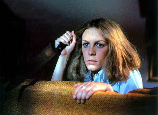 Movies for halloween | Jamie Lee Curtis, Halloween (Movie - 1978) | HALLOWEEN (1978), picked ...