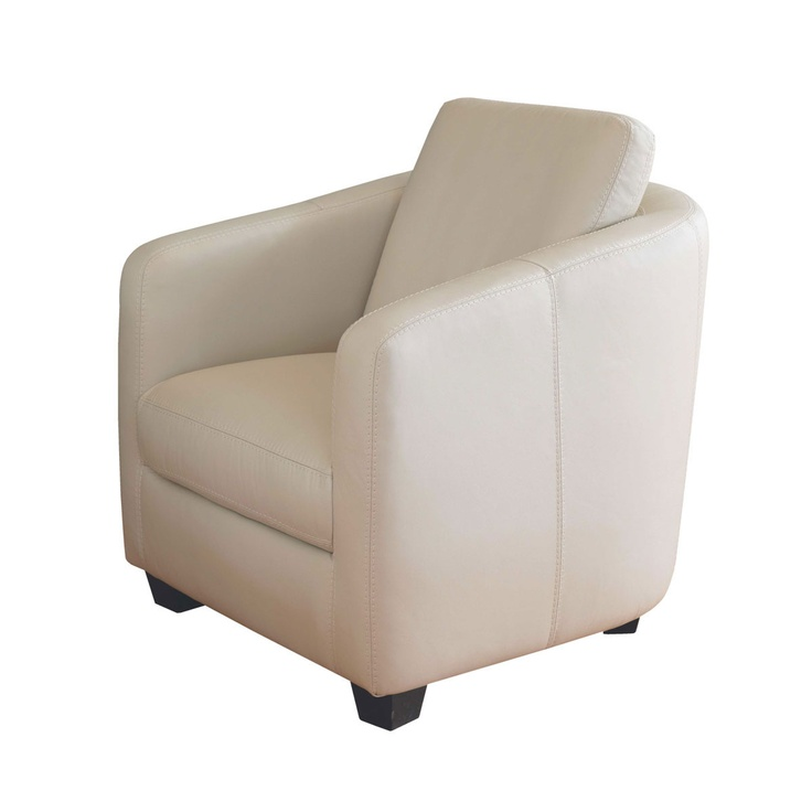 Swing Leather Accent Chair from Domayne