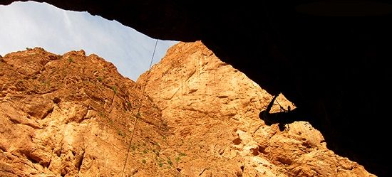 Todra Gorge Morocco one of the best rock climbing holiday destinations by Rock and Sun