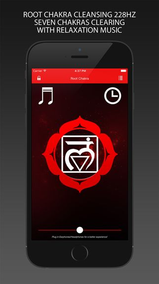 Root Chakra Cleansing 228Hz - app iOS - Seven Chakras Clearing with Relaxation Music