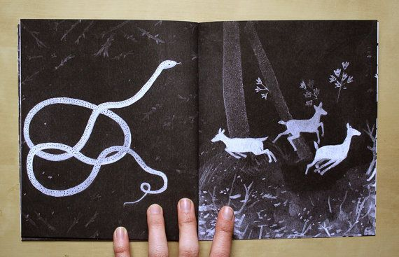 spread from 'night home' by becca stadtlander