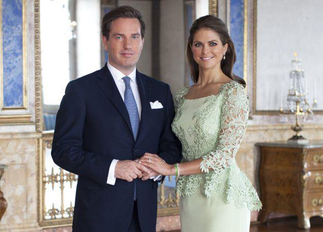 Prinzessin Madeleine von Schweden Chris ONeill offiziell Foto