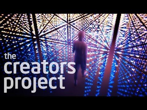 6,000 Light Bulbs React To Your Movements (the creators project)