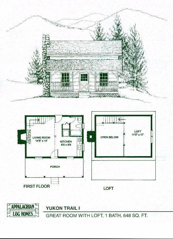 Elegant Log Cabin Floor Plans with Basement