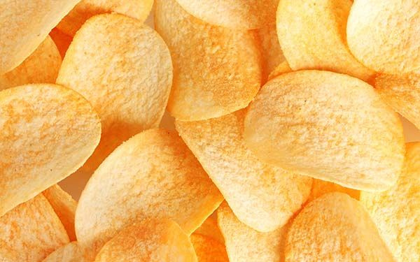 The potato chip aka crisps, were invented by African American chef, George Crum.