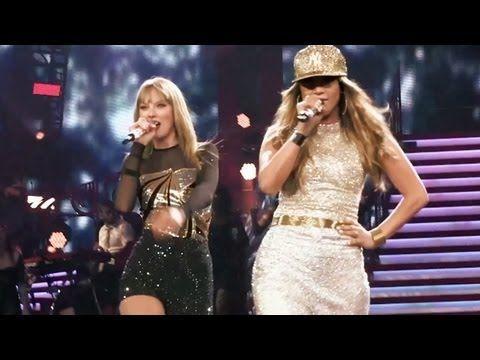 Jennifer Lopez and Taylor Swift