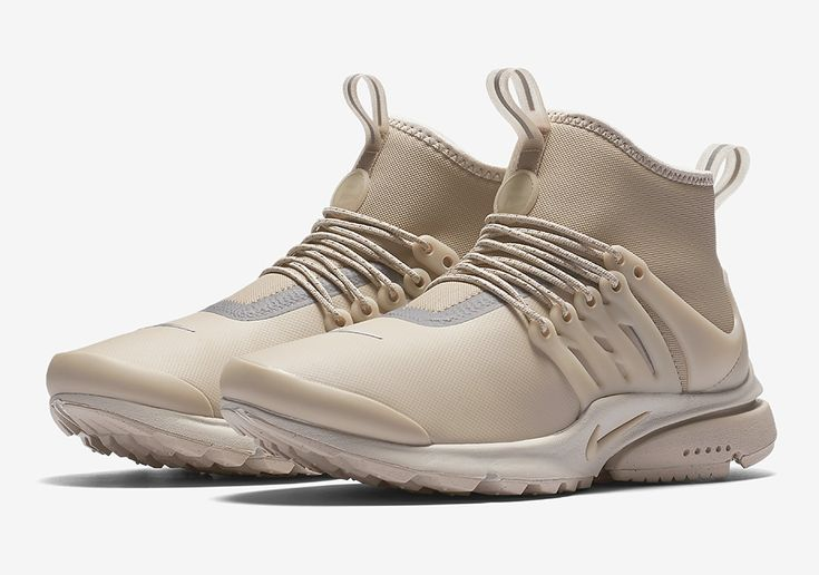 "#sneakers #news  Nike Presto Mid Utility ""Tan"" Releasing Soon"