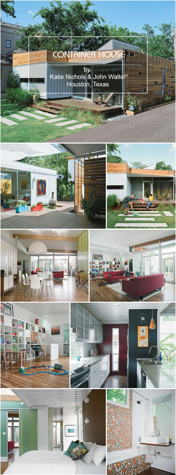 Container Container house Kate Nichols u0026 John