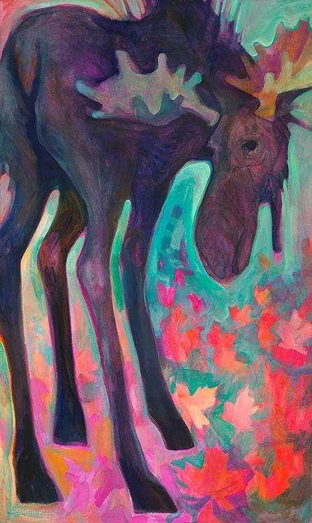 northern mn author children's book moose | Liz Sivertson: Sivertson Gallery