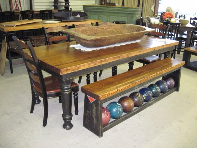 17 best images about hinz 57 bowling lane furniture in for Table 6 in canton