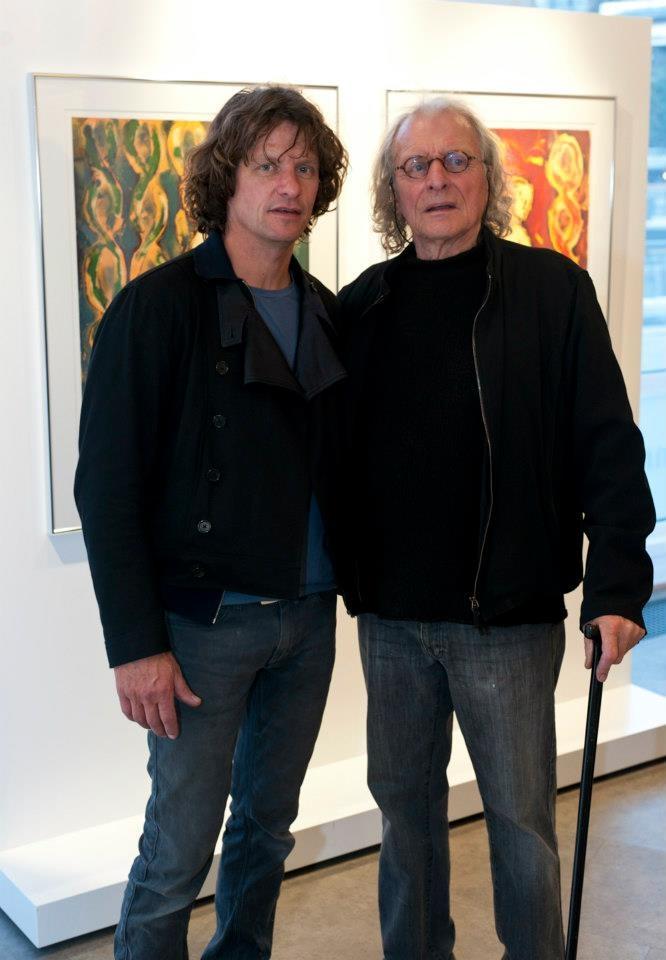 #Nico og #Frans #Widerberg under Nico Widerberg-uke og kunstnertreff i #Galleri #Fineart