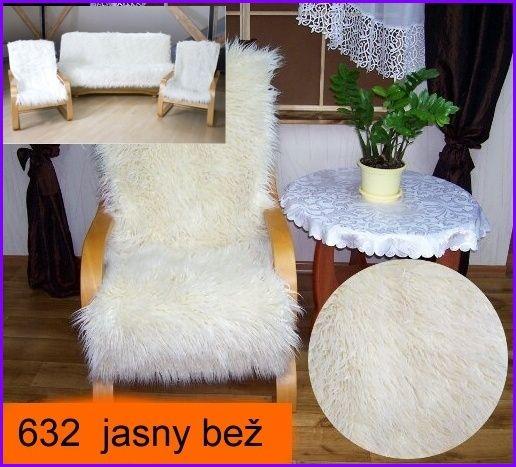 Přehozy na sedací soupravy | Přehozy Alpaka -umělá kožešina | Elegantní přehozy 3.1.1. 632 | ZDETEX kvalitní bytový textil