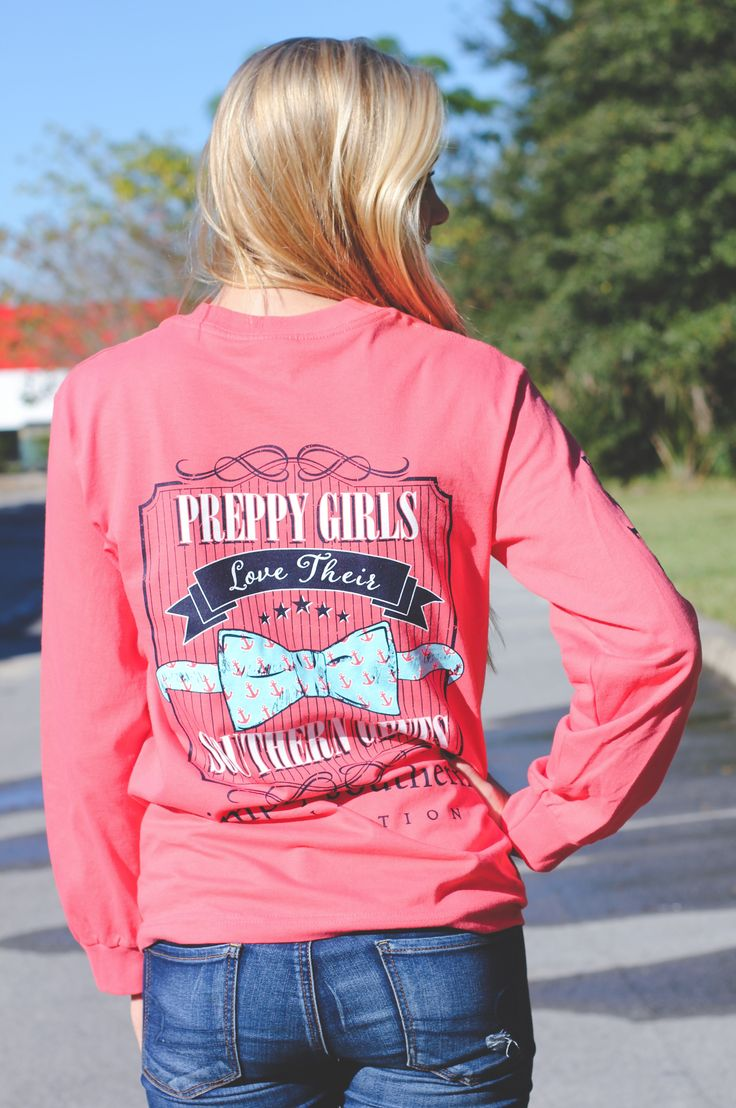 Simply Southern Long Sleeve Tee Model Is 5 9 Quot Wearing A