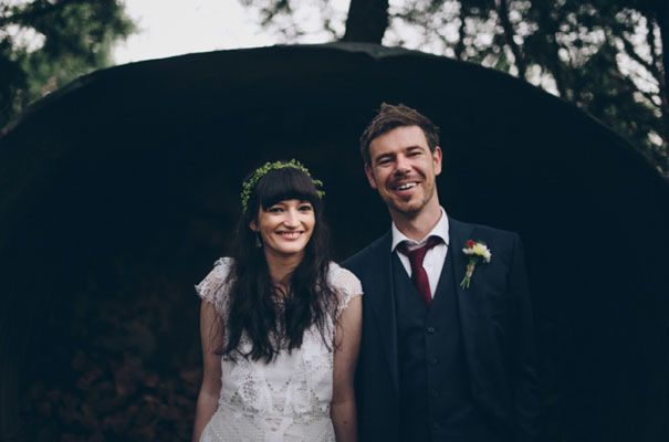 mairead and mikes beautiful bushland wedding, where almost every little detail…