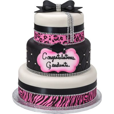 Graduation Cakes With Bling