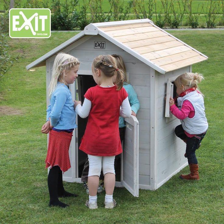 Exit Beach leikkimökkiä on saatavilla punaisena, harmaana ja pinkkinä!  #kaunis_leikkimökki #leikkimökki #lapset