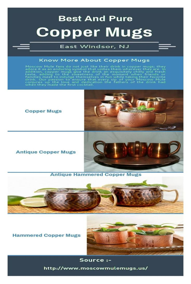 Buy Antique Copper Mugs Online In New Jersey  We are leading in providing high quality of antique copper mugs online in New Jersey at beat prices. We offer huge range of copper mugs for sale. If you want to buy these mugs then place order now. For more details visit at http://www.moscowmulemugs.us.