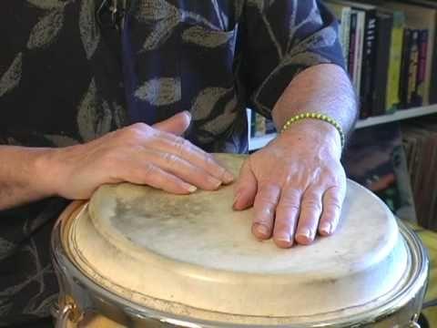 How to Play Conga Drums : Tumbao Latin Music Rhythms