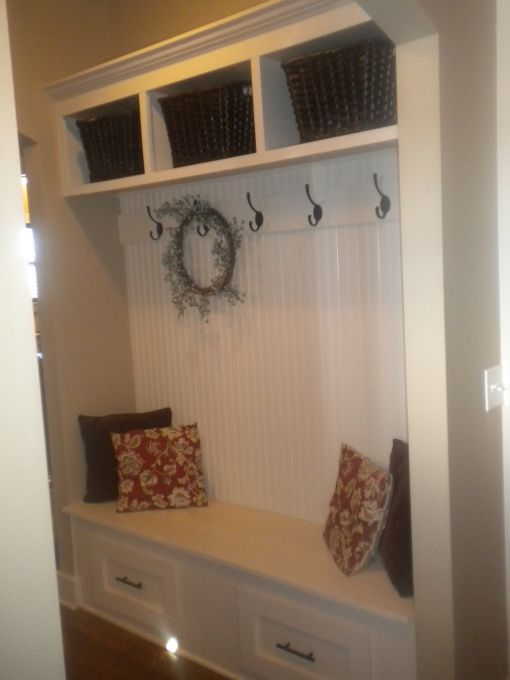 An Idea For My Entryway, Since We Donu0027t Have A Coat Closet.